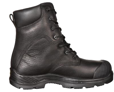"Big Bill BB6300 8"" Safety Boots Black Full Grain Leather"
